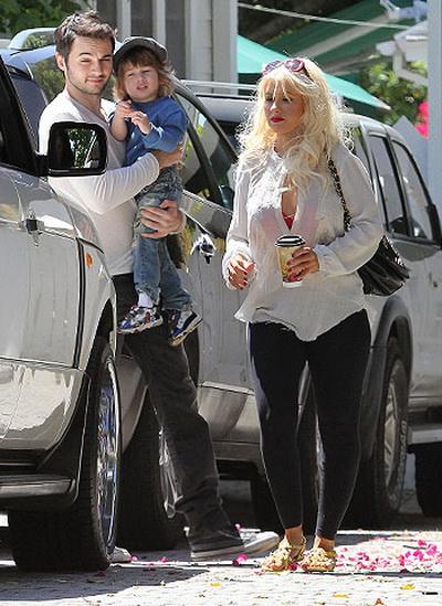 Кристина агилера фото и ее дети и муж