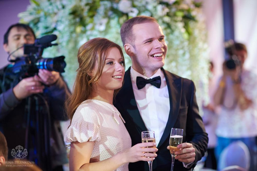 Юлия Савичева и Александром Аршиновым свадьба